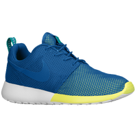 Nike Roshe Run - Men's - Blue / Light Green