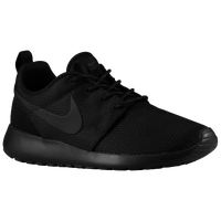 Nike Roshe Run - Women's - All Black / Black