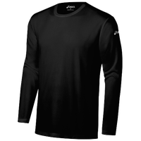 ASICS� Ready-Set Long Sleeve T-Shirt - Men's - All Black / Black