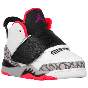 Jordan Son of Mars - Boys' Toddler - White/Fuchsia Flash/Black/Wolf Grey