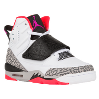 Jordan Son of Mars - Boys' Grade School - White / Purple