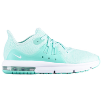 Nike Air Max Sequent 3 - Girls' Preschool - Aqua / White