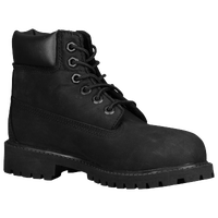"Timberland 6"" Premium Waterproof Boots - Boys' Preschool - All Black / Black"