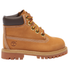 "Timberland 6"" Premium Waterproof Boot - Boys' Preschool - Tan / Tan"