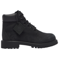 "Timberland 6"" Premium Waterproof Boots - Boys' Toddler - All Black / Black"