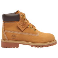 "Timberland 6"" Premium Waterproof Boots - Boys' Toddler - Tan / Tan"