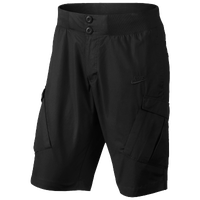 Nike Woven Shorts - Men's - All Black / Black