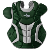All Star System 7 Ultra Cool Chest Protector - Men's - Dark Green / Grey