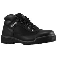 Timberland Mid Field Boots - Men's - All Black / Black