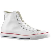 Converse All Star Leather Hi - Men's - White / Red