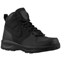 Nike ACG Manoa Leather - Boys' Grade School - All Black / Black