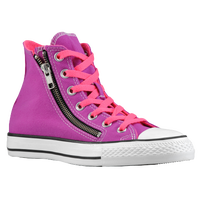 Converse All Star Double Zip Hi - Men's - Purple / Pink