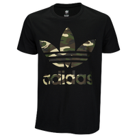 adidas Originals Graphic T-Shirt - Men's - Black / Brown