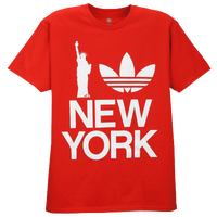adidas Originals Graphic T-Shirt - Men's - Red / White