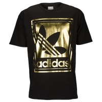 adidas Originals Graphic T-Shirt - Men's - Black / Gold