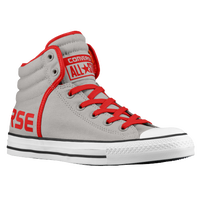 Converse All Star Swag Hi - Men's - Grey / Red