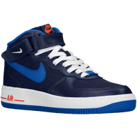 Nike Air Force 1 Mid - Boys' Grade School - Navy / Blue