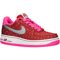 Nike Air Force 1 Low '06 - Girls' Grade School - Red / Silver