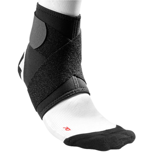 McDavid Ankle Support with Strap - Black