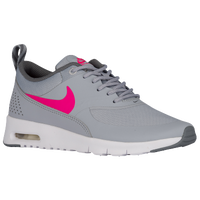 Nike Air Max Thea - Girls' Grade School - Grey / Pink