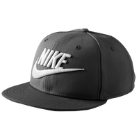 Nike Futura True Snapback Cap - Boys' Grade School - Black / White