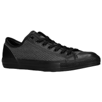 Converse CT All Star Overlay Ox Woven - Men's - Black / White