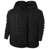 Nike Aeroloft TF Windrunner Jacket - Men's - All Black / Black