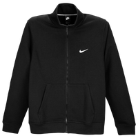 Nike Club Swoosh Track Jacket - Men's - All Black / Black