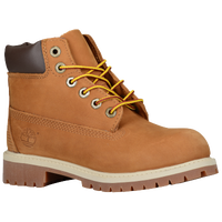 "Timberland 6"" Premium Waterproof Boots - Boys' Preschool - Tan / Tan"