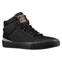 Converse Bassline Hi - Men's - Black / Red
