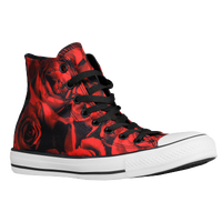 Converse All Star Hi - Women's - Black / Red