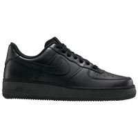 Nike Air Force 1 07 LE Low - Women's - All Black / Black