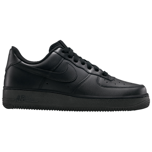 Nike Air Force 1 07 LE Low - Women\u0026#39;s - Basketball - Shoes - Black/Black