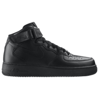 Nike Air Force 1 Mid - Men's - All Black / Black