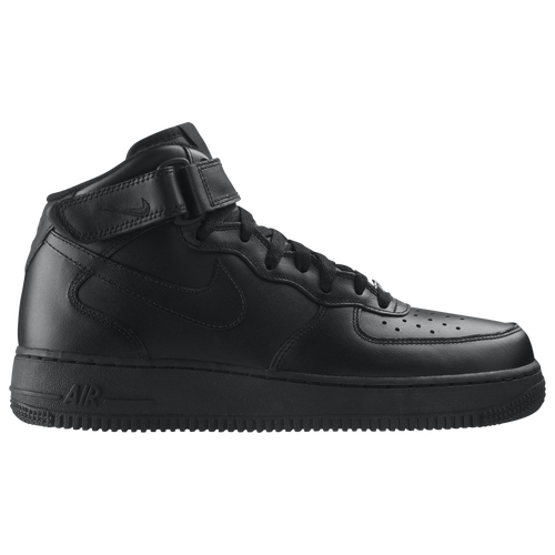nike air force 1 mid schwarz