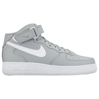Nike Air Force 1 Mid - Men's - Grey / White