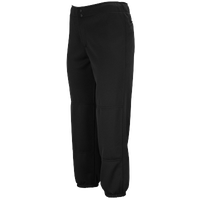 Mizuno Select Non-Belted Fastpitch Pant - Women's - All Black / Black