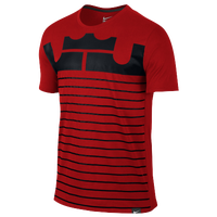 Nike LeBron Art T-Shirt - Men's -  Lebron James - Red / Black