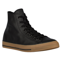 Converse All Star Leather Hi - Men's - Black / Tan