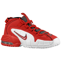 Nike Air Max Penny - Boys' Grade School - Red / White