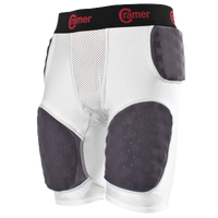 Cramer Thunder 5-Pad Integrated Football Girdle - Men's - White / Black