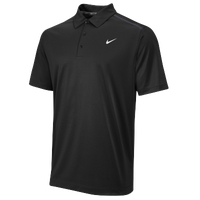 Nike Team Sideline 14 Elite Coaches Polo - Men's - Black / Black