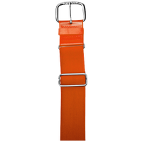 "All Star 1 1/2"" Elastic Uniform Belt - Orange / Orange"