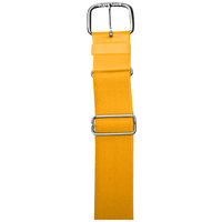 "All Star 1 1/2"" Elastic Uniform Belt - Yellow / Yellow"