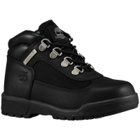 Timberland Field Boots - Boys' Preschool - All Black / Black