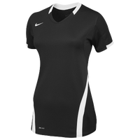 Nike Team Ace S/S Game Jersey - Women's - Black / White