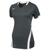 Nike Team Ace S/S Game Jersey - Women's - Grey / White