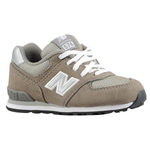 New Balance 574 Suede - Boys' Toddler - Grey/Silver