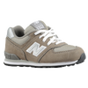 New Balance 574 Suede - Boys' Toddler - Grey / Tan