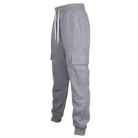 Southpole Basic Fleece Cargo Pants - Men's - Grey / Grey